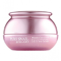 BERGAMO Pure Snail Wrinkle Care Cream, 50g