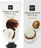 FarmStay Tropical Fruit Hand Cream Moist Full Shea Butter, 50ml