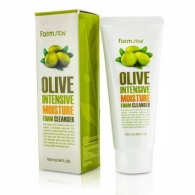 FarmStay Olive Intensive Moisture Foam Cleanser, 100ml