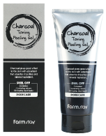 FarmStay Charcoal Toning Peeling Gel, 180ml