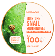LEBELAGE Moisture Snail Purity 100% Soothing Gel, 300ml
