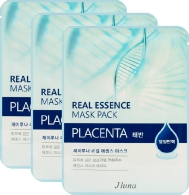 JLuna Real Essence Mask Pack Placenta, 25ml, 3 шт