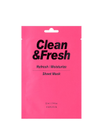 EUNYUL Clean&Fresh Refresh/Moistuize Sheet Mask, 22ml, 3pcs